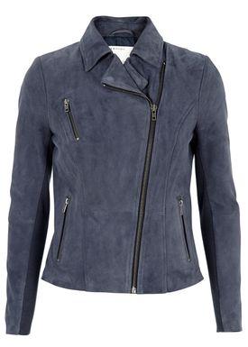 Muubaa - Jacket - Cottica Biker Jacket - Blue