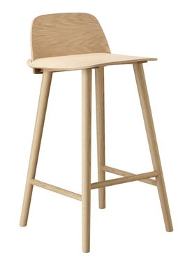 Muuto - Chair - Five Pouf - Oak