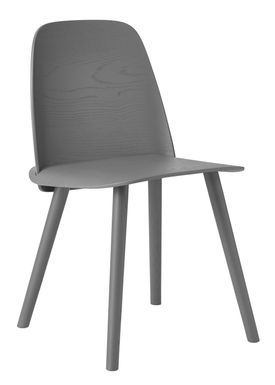 Muuto - Chair - Nerd Chair - Dark Grey