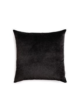 New Works - Pude - Velvet Cushion - By Malene Birger - Black