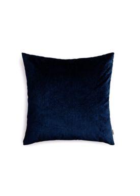 New Works - Pude - Velvet Cushion - By Malene Birger - Marine Blue