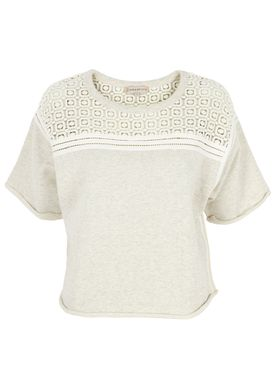 Paul & Joe Sister - Sweatshirt - Confettis - Ligth Grey/Cream