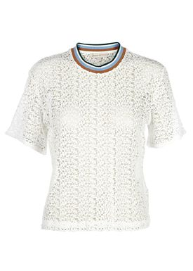 Paul & Joe Sister - T-shirt - Surfing - Hvid Blonde