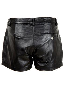 Leather Shorts Shorts Sort