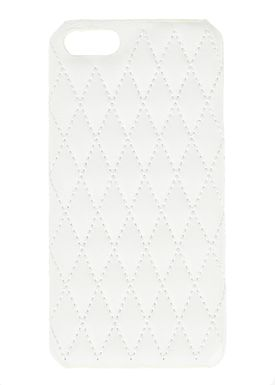 Designers Remix - Cover - Quilted Cover - White