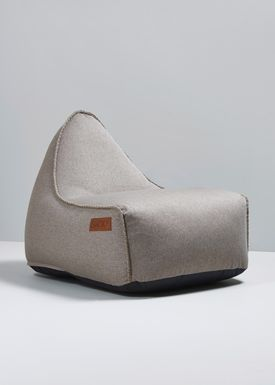 SACKit - Bean Bag - RETROit Canvas / Indoor - Sand