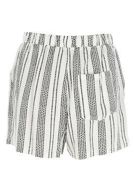Stig P - Shorts - My Shorts - Hvid/Sort Strib