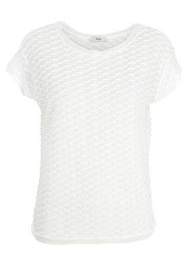 Stig P - T-shirt - Alexandra - White