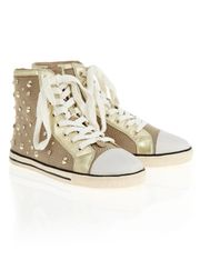 2V3947/AQ46-B391 Shoes Beige/Gold
