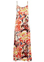 Colour Printed Sun Dress Kjole Print
