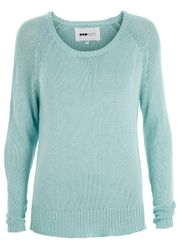 Loose Knitted Armour  Knit Mint