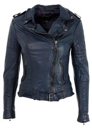 Muubaa - Jacket - Nido Quilted Biker - Dark Blue