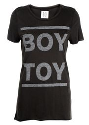 Zoe Karssen - T-shirt - Oversize Loose Boy Toy - Pirate Black