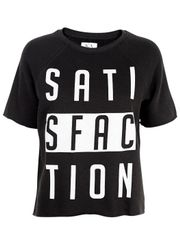 Zoe Karssen - T-shirt - Satisfaction Sweat - Pirate Black
