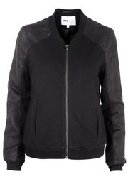 POP cph - Jacket - Sweat vs. Peach Bomber - Black