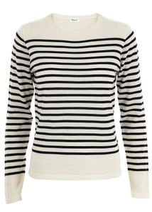 Filippa K - Blouse - Merino Stripe Pullover - Striped