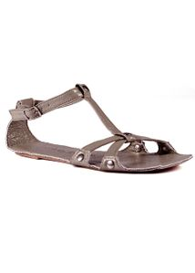 Lise Lindvig - Sandals - Fia SS12 - Mud Grey