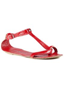Lise Lindvig - Sandals - Lola - Red