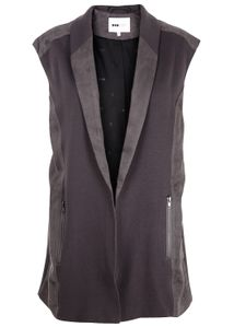 POP cph - Jacket - Sweat vs. Peach Sleeveless Blazer - Grey