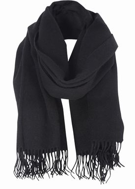 Won Hundred - Scarf - Caden Wool Scarf - Black