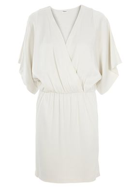 Filippa K - Dress - Satin Wrap Dress - Offwhite