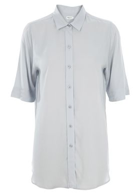 Filippa K - Shirt - Viscose Shirt - Light Blue