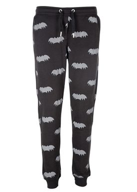 Zoe Karssen - Pants - Loose Bat All Over Sweatpants - Black