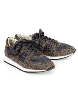 Shoe Shi Bar - Sneakers - Nau Leopard - Grey w. Leopard