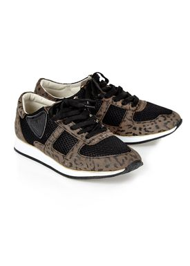 Shoe Shi Bar - Sneakers - Nau Leopard - Black w. Leopard