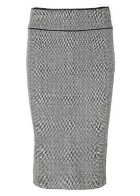 Patrizia Pepe - Skirt - 2G0574 AQ75 - Grey Melange