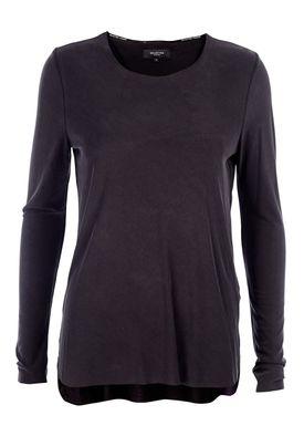 Selected Femme - Bluse - Fabby LS - Vasket Sort