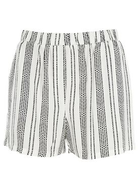 Stig P - Shorts - My Shorts - White/Black Stripe