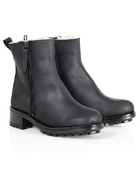 Shoe Shi Bar - Boots - Tessi Wool - Black