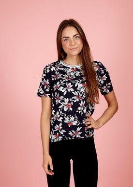Vanila - T-shirt - Dagma - Marineblå