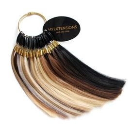 Hair extensions farvering