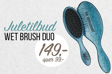 Wet Brush juletilbud