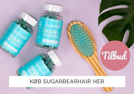 Danmarks bedste pris på Sugarbearhair