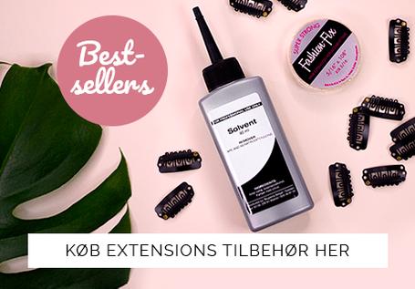 Alt tilbehør til hair extensions