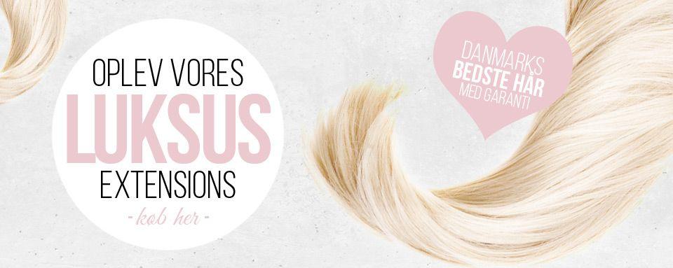 Luksus hair extensions