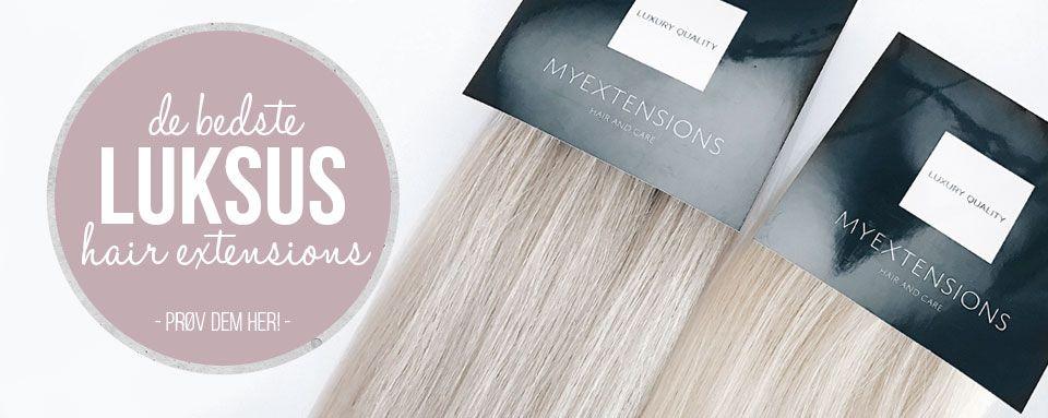 De bedste luksus hair extensions
