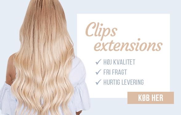Danmarks største udvalg af hair extensions