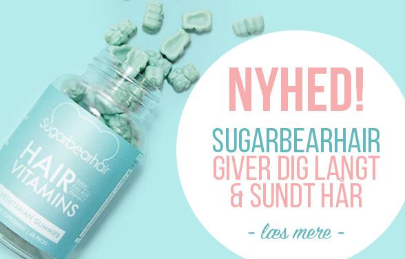 Sugarbearhair vitaminer i Danmark