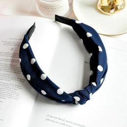 Penelope hårbøjle Accessories Blue dot