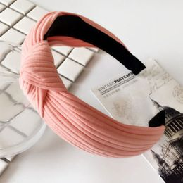 Penelope hårbøjle Accessories Peach Ribbed