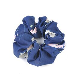 Rope Scrunchie Accessories Blue Floral
