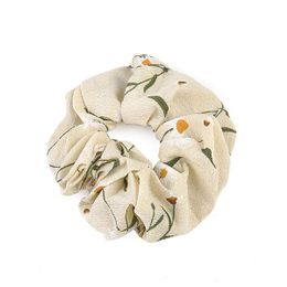 Rope Scrunchie Accessories Nude Floral