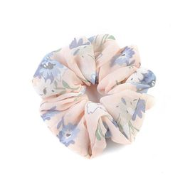 Rope Scrunchie Accessories Pink Floral