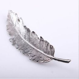 Rylie Jo Hårspænde Accessories Silver Feather