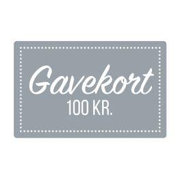 Gavekort  100 kr