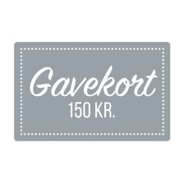 Gavekort  150 kr
